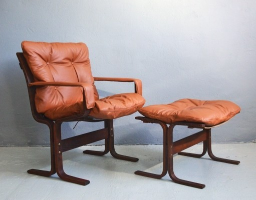 Siesta arm chair by Ingmar Relling for Westnofa, 1970s