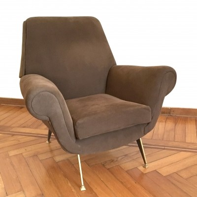 Armchair design Gigi Radice for Minotti, Italy 1960s
