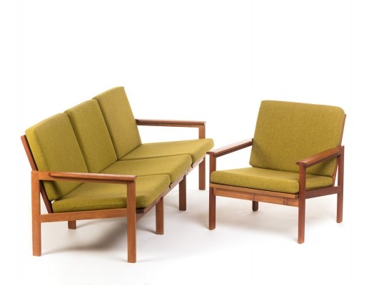 Capella seating group by Illum Wikkelsø for N. Eilersen, 1960s