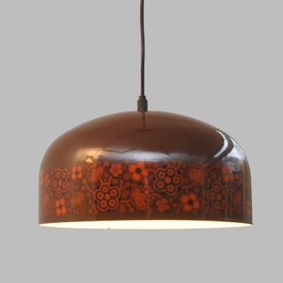 2 x Arabia hanging lamp by Kaj Franck for Fog & Mørup, 1970s