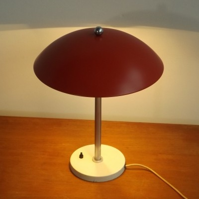 GI 425 Mushroom desk lamp by Wim Rietveld for Gispen, 1950s