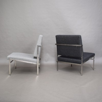 2 x Parlez lounge chair by Rob Parry for Kuipers, 1960s