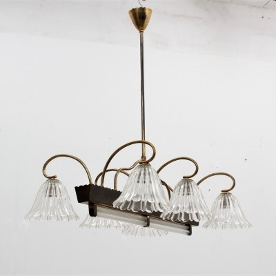 Barovier & Toso hanging lamp, 1940s