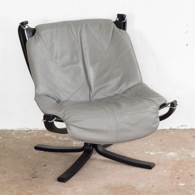 Falcon lounge chair by Sigurd Ressell for Vatne Møbler, 1980s