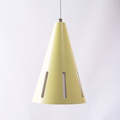 Sunseries Nr. 2 hanging lamp by H. Busquet for Hala Zeist, 1950s