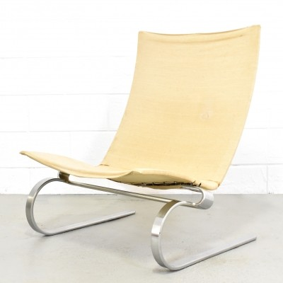 PK20 lounge chair by Poul Kjærholm for E. Kold Christensen, 1950s