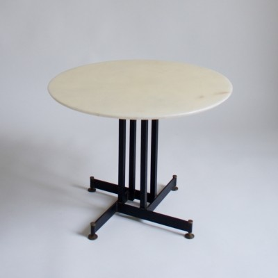 1950's French Marble Side Table