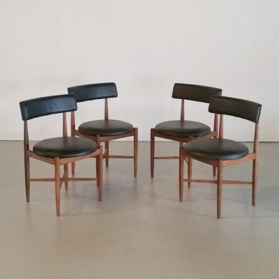 Set of 4 Fresco Dinner Chairs by V.B. Wilkins for G-Plan, 1960s
