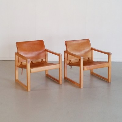 Set of 2 Safari Chairs Diana by Karin Mobring, 1970s