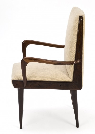 Pair of lovely Brazilian armchairs by Giuseppe Scapinelli