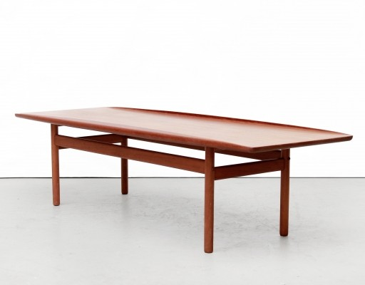 Surfboard coffee table by Grete Jalk for Poul Jeppesen, 1960s
