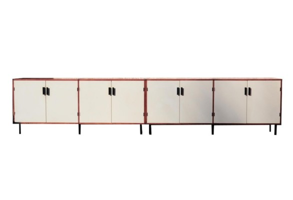 Pair of Made to Measure sideboards by Cees Braakman for Pastoe, 1950s