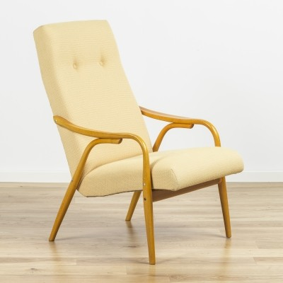 TON 947 Armchair by Antonin Šuman, 1950's