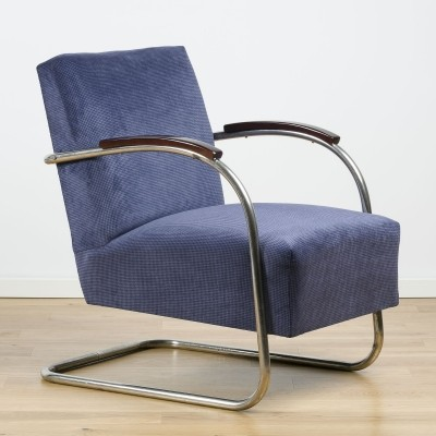 Cantilever armchair FN 21 Famos from Mücke & Melder, 1930s