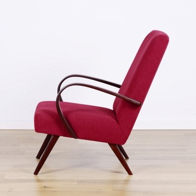 Type 53 armchair by Jaroslav Smídek for Ton, 1950s