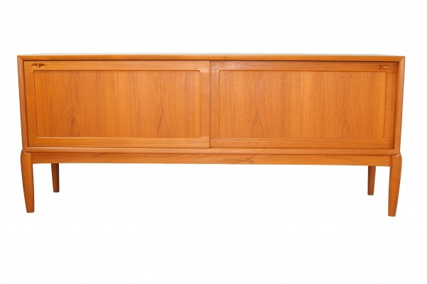 Scandinavian teak Sideboard by H.W Klein for Bramin
