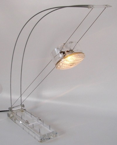 Arco spring bow light by Axel Meise, 80s