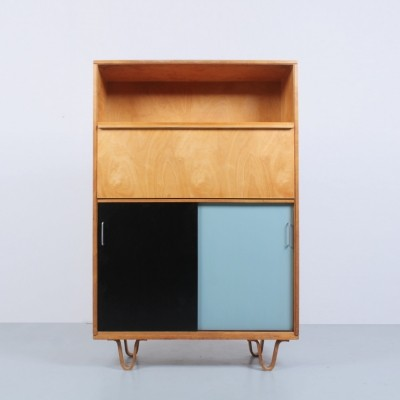 Combex Birch Wood series cabinet by Cees Braakman for Pastoe, 1950s