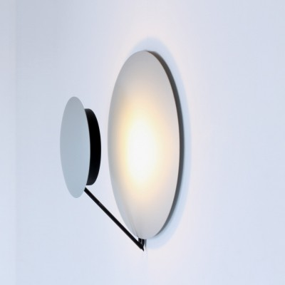 2 x Vega wall lamp by L. Cesaro & F. Amico for Tre Ci Luce, 1980s