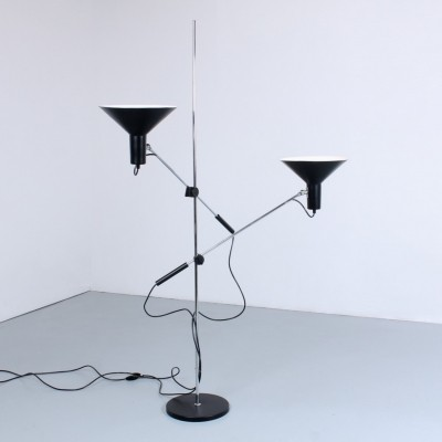 Model 8021 floor lamp by J. Hoogervorst for Anvia Almelo, 1960s