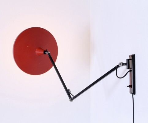 Panama wall lamp by Wim Rietveld for Gispen, 1950s