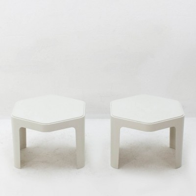 Pair of vintage side tables, 1970s
