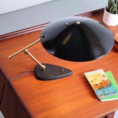 Saucer desk lamp by Cosack, 1950s