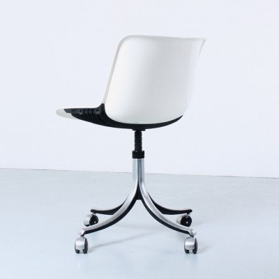 Modus 4 office chair by Osvaldo Borsani for Tecno, 1960s