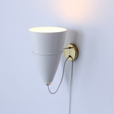 Wall lamp by Lisa Johansson Pape for Orno Stockmann, 1960s