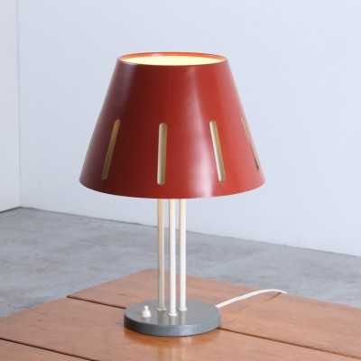 Sun series desk lamp by H. Busquet for Hala Zeist, 1950s
