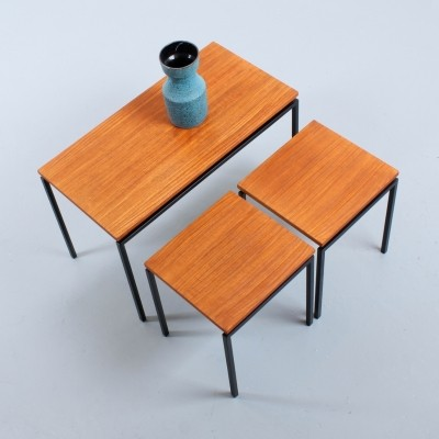 Stiemsma nesting table, 1950s