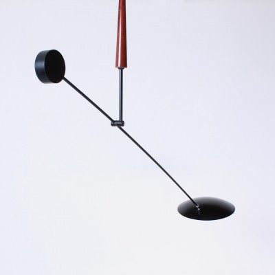 Counter balance hanging lamp by Herda, 1980s