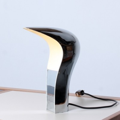 Pelota desk lamp by Cesare Casati & C. Emanuele Ponzio for Lamperti, 1960s
