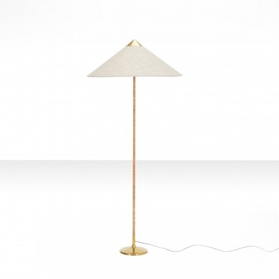 Early Paavo Tynell 'Chinese Hat' model 9602 floor lamp, Finland 1950s