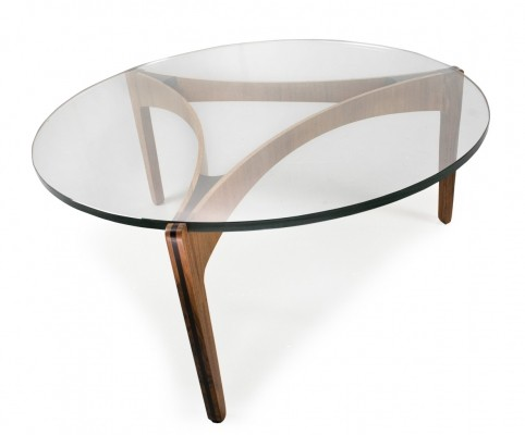 Coffee table by Sven Ellekaer for Christian Linneberg, 1960s