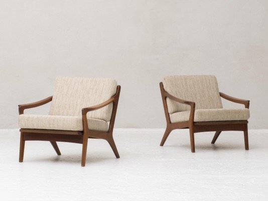 Set Easy chairs by Arne Wahl Iversen for Komfort