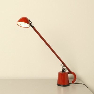 Dobermann desk lamp by Elio Martinelli for Martinelli Luce, 1970s