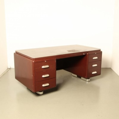 Prominent writing desk by Ahrend Oda, 1930s