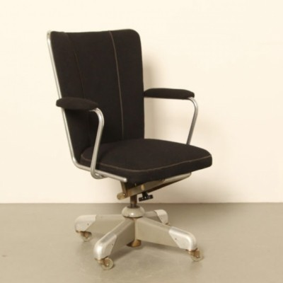 Model 357 President office chair by Christoffel Hoffmann for Gispen, 1950s