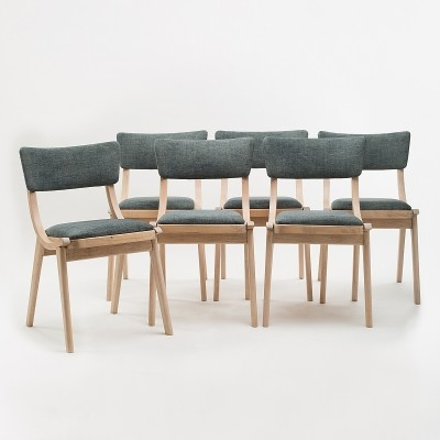 Set of 6 'Skoczek' chairs by Juliusz Kędziorek for Zamość Furniture Factory