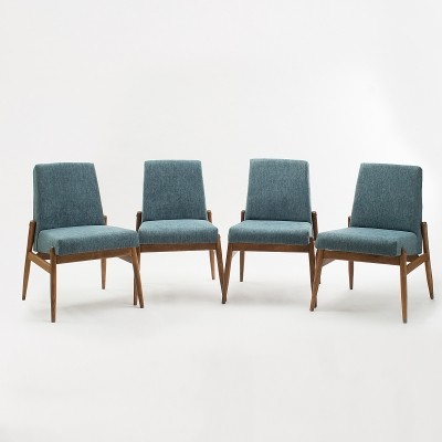 Set of 4 'Celia' chairs by Zamość Furniture Factory, 1960s