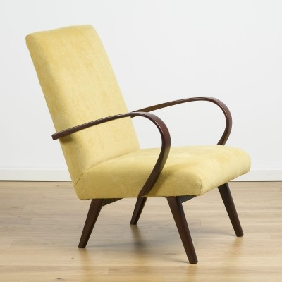 Model 53 armchair by Jaroslav Smídek for Ton, 50's