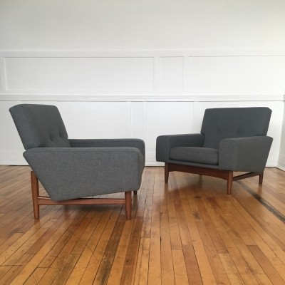 Pair of Ib Kofod-Larsen Armchairs for G-Plan Danish Range