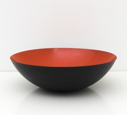 Large size & early 'Krenit' bowl by Herbert Krenchel for Torben Orskov, 1953