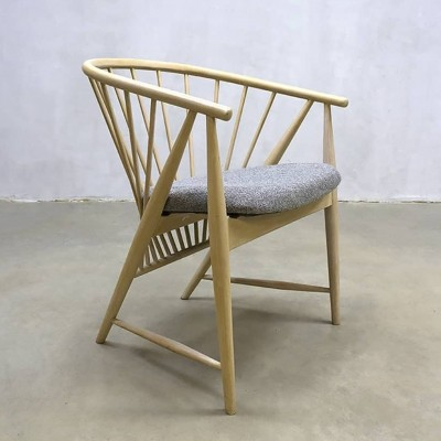 Sun feather lounge chair by Sonna Rosen for Nässjö Stolfabrik, 1960s