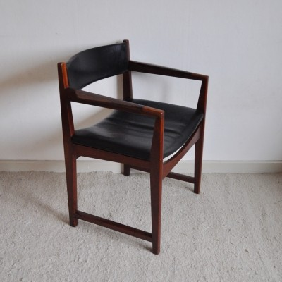 Model 370 arm chair by Peter Hvidt & Orla Mølgaard Nielsen for Søborg Møbelfabrik, 1950s