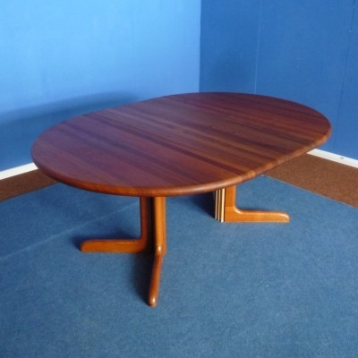 Teak Dining Table by Niels O. Møller for J.L Møller Denmark, 1960s