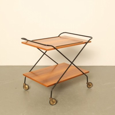 Tea trolley by Paul Nagel, 1950s