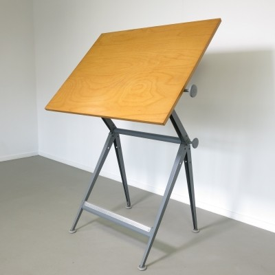 Reply drafting table by Wim Rietveld for Ahrend de Cirkel