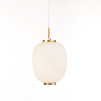 Kina hanging lamp by Bent Karlby for Lyfa, 1960s